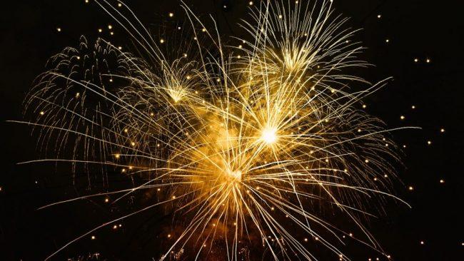tűzijáték Szilveszter